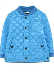 Стеганая куртка с воротником-стойкой Burberry