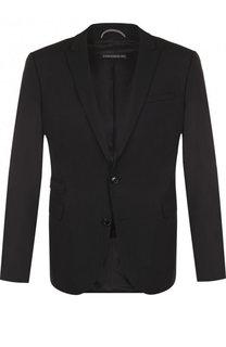 Однобортный шерстяной пиджак Drykorn