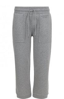 Укороченные хлопковые брюки с карманами Burberry
