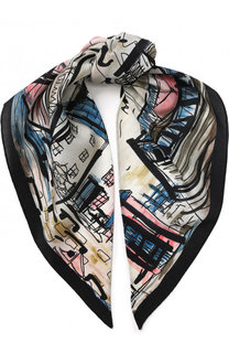 Шелковый платок с принтом Burberry