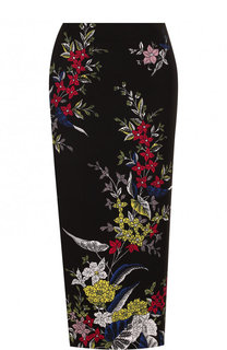 Юбка-карандаш с принтом Diane Von Furstenberg