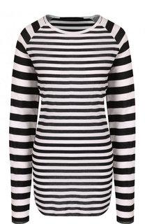 Вязаный пуловер в контрастную полоску Haider Ackermann