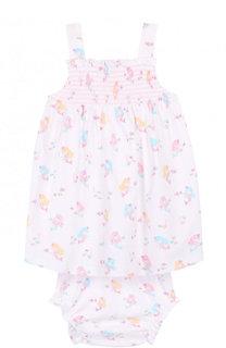 Хлопковый комплект из платья и трусов Kissy Kissy