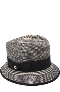 Соломенная шляпа Oval Hat с лентой Loro Piana