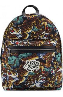 Текстильный рюкзак с принтом Kenzo