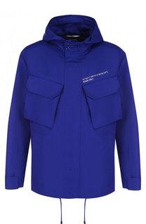 Куртка на молнии с капюшоном Valentino
