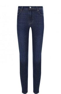 Укороченные джинсы-скинни с потертостями Acne Studios