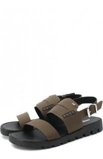 Кожаные сандалии на ремешке Dsquared2