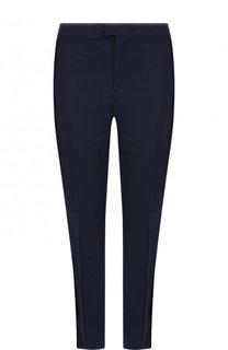Укороченные хлопковые брюки прямого кроя REDVALENTINO