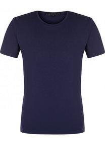 Хлопковая футболка с круглым вырезом Drykorn