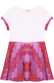Мини-платье джерси с металлизированной отделкой Missoni