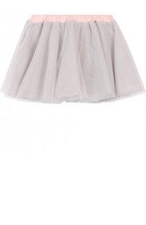 Многослойная юбка из хлопка свободного кроя Aletta
