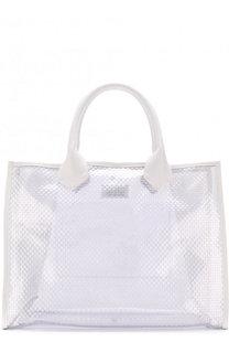 Прозрачная сумка-шоппер Maison Margiela