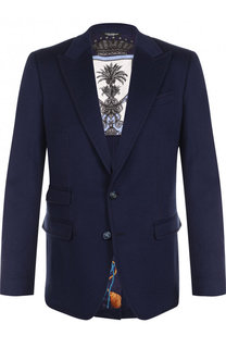 Однобортный кашемировый блейзер Dolce & Gabbana