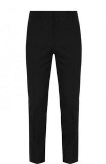 Шерстяные брюки прямого кроя Givenchy