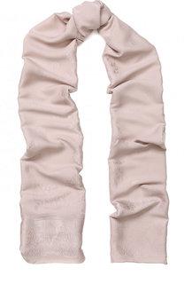 Шелковый шарф с узором Givenchy