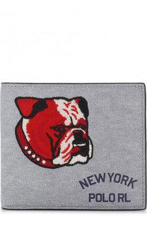 Кожаное портмоне с отделениями для кредитных карт Polo Ralph Lauren