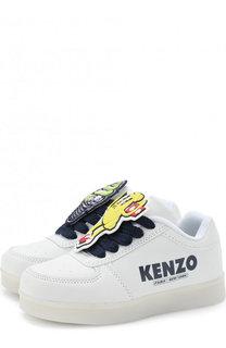 Кроссовки с подсветкой на подошве и USB кабелем Kenzo