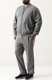 Хлопковый спортивный костюм Brioni