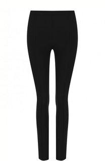 Однотонные брюки-скинни Helmut Lang