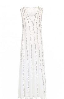 Хлопковое платье с контрастной отделкой See by Chloé