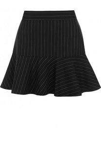 Шерстяная мини-юбка с оборками Zadig&Voltaire Zadig&Voltaire