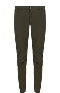 Хлопковые брюки прямого кроя C.P. Company