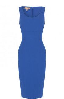 Однотонное платье-футляр из шерсти Michael Kors Collection