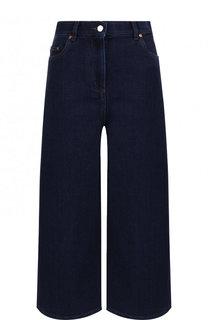 Укороченные расклешенные джинсы Valentino