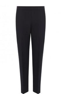 Укороченные шерстяные брюки со стрелками BOSS