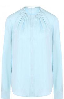 Блуза с круглым вырезом и драпировкой BOSS