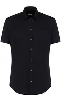 Хлопковая рубашка с короткими рукавами Dolce & Gabbana