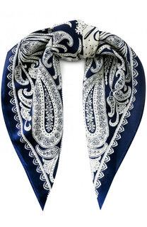 Шелковый платок с принтом Polo Ralph Lauren