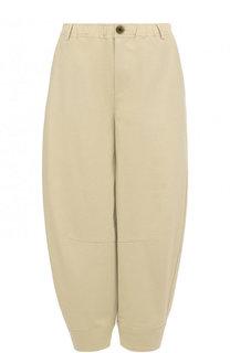 Укороченные хлопковые брюки 5PREVIEW