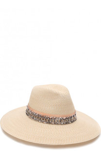 Шляпа с декоративной отделкой Eugenia Kim