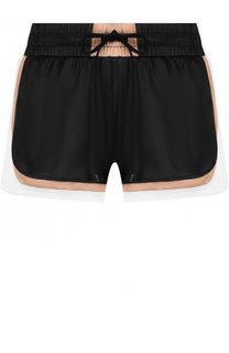 Мини-шорты с контрастной отделкой и карманами Koral