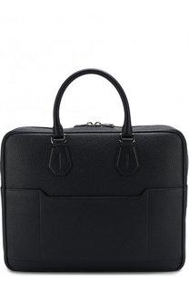 Кожаная сумка для ноутбука с плечевым ремнем Bally