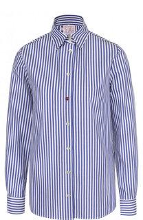 Приталенная блуза в полоску Stella Jean