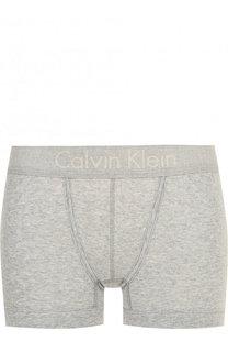 Хлопковые шорты с логотипом бренда Calvin Klein Underwear