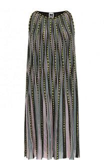Вязаное мини-платье свободного кроя M Missoni