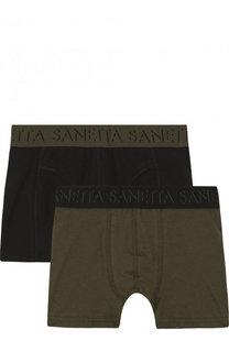 Комплект из двух хлопковых боксеров Sanetta