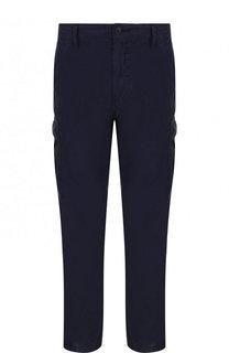 Хлопковые брюки-карго BOSS