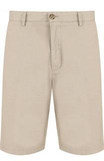 Хлопковые шорты с карманами BOSS