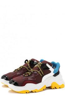 Текстильные кроссовки на шнуровке No. 21