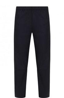 Укороченные кожаные брюки прямого кроя DROMe