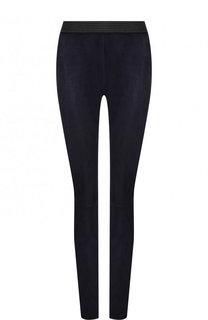 Замшевые брюки-скинни DROMe