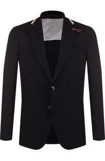 Однобортный шерстяной пиджак Baldessarini