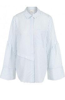 Блуза свободного кроя в полоску 3.1 Phillip Lim