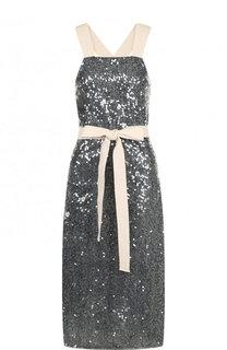Приталенное платье-миди с пайетками Walk of Shame