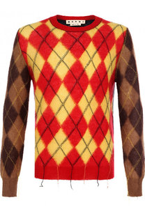 Шерстяной свитер с вышивкой Marni